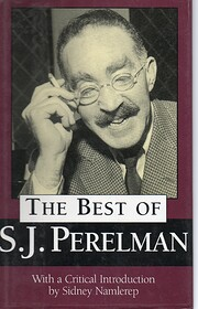 Best of S J Perelman – tekijä: S J…