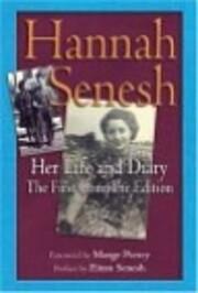 Hannah Senesh Life and Diary – tekijä:…