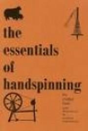 Essentials of Handspinning – tekijä:…