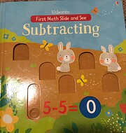 First Math Slide and See: Subtracting por…