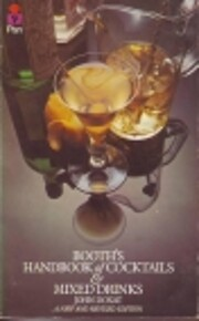 Booth's Handbook of Cocktails and Mixed…