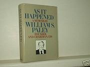 As it happened : a memoir de William S.…