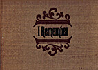 I Remember by Joe Clark