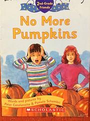 No More Pumpkins por Peter Catalanotto