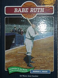 a look into life and career of george herman ruth a baseball player Babe ruth, known as the sultan of swat and the home rung king, is often referred to as the greatest baseball player who ever lived.
