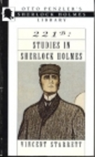221B: Studies in Sherlock Holmes by Vincent…