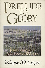 Prelude to Glory: Insights into the Death,…
