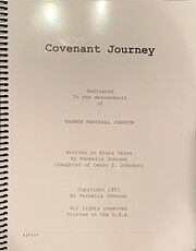 Covenant Journey: Dedicated to the…
