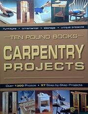 Carpentry Projects por Ten Pound Book