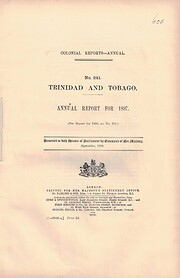 Trinidad and Tobago Annual Report for 1897 -…