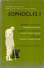 The Complete Greek Tragedies: Sophocles I…
