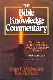 The Bible Knowledge Commentary - the New…