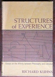 Structures of Experience: Essays on the…