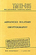 TM11-485 Advanced Military Cryptography by…