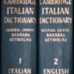 Cambridge Italian dictionary, vol  1: Italian-English by