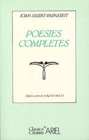 Poesies completes de Joan Salvat-Papasseit