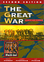 The Great War Sources and Evidence by David…