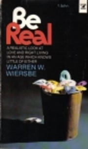 Be real (An Input book) de Warren W Wiersbe