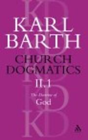 Church Dogmatics the Doctrine of God: The…