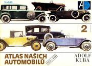 Atlas nasich automobilu de Adolf Kuba