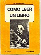 Como Leer un Libro by Pachon F. Luis Enrique