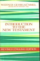 Introduction to the New Testament by Werner…