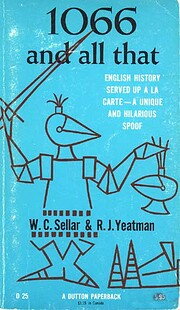 1066 and All That: English History Served Up…