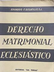 Derecho matrimonial eclesitico av Eduardo…