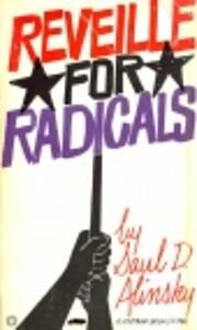 Reveille for Radicals by Saul Alinsky