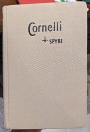 Cornelli – tekijä: Johanna Spyri