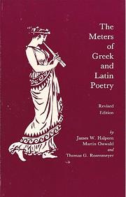 The meters of Greek and Latin poetry av…