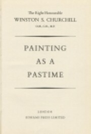 PAINTING AS A PASTIME par Sir Winston S.…