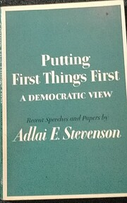 Putting Things First: A Democratic View by…