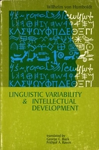 Linguistic Variability and Intellectual…