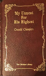 My Utmost for His Highest: Updated Language…