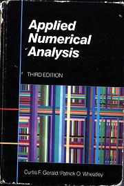 Applied numerical analysis de Curtis F.…