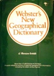 Webster's New Geographical Dictionary –…
