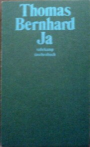 Ja par Thomas Bernhard