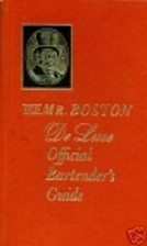 Mr. Boston: Official Bartender's & Party…