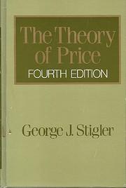 Theory of Price – tekijä: George J.…