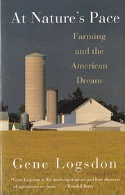 AT NATURE'S PACE: Farming and the American…