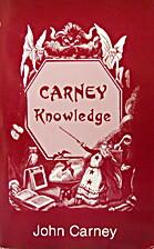 Carney Knowledge by John Carney