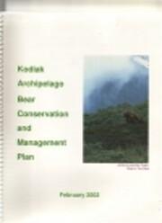 Kodiak Archipelago Bear Conservation and…