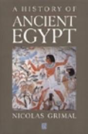 A history of ancient Egypt de…