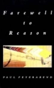 Farewell to Reason – tekijä: Paul…