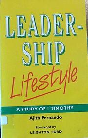 Leadership lifestyle por Ajith Fernando