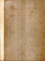 Catalogue of a collection of early printed…