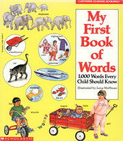 My First Book of Words: 1000 Words Every…