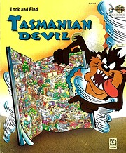 Look and Find. Tasmanian Devil