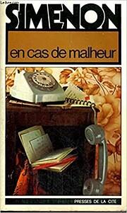 En cas de malheur : roman av Georges Simenon
